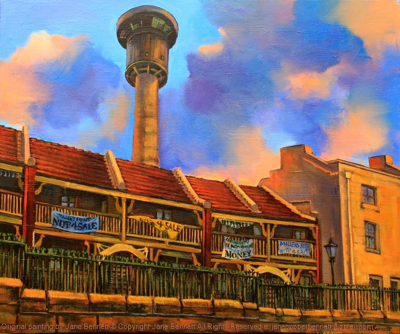 web MP19Dalgety Terrace Millers Point 2014 oil on canvas 46 x 61cm
